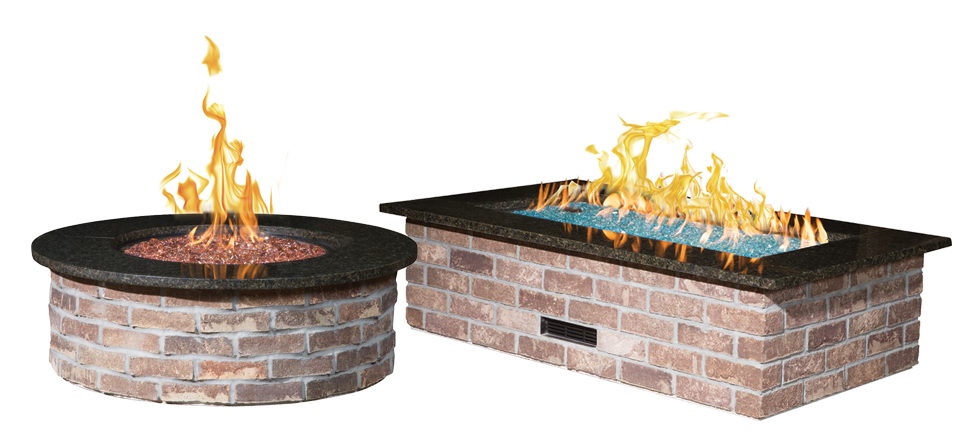 Fire Pits Outdoor Living Mansfield Brick And Supply